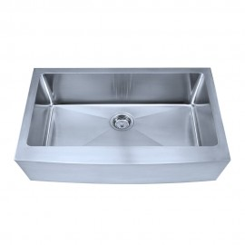 HA124 Stainless Steel Fabricated Farmhouse Style Kitchen Sink.