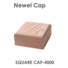 "3-1/4"" Square Newel Cap"