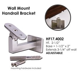 Adjustable Wall Mount Bracket