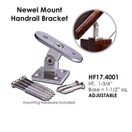 Adjustable Newel Mount Bracket