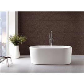 "Virtu USA Serenity VTU-2267 67"" x 27.5"" Freestanding Soaking Bath Tub"