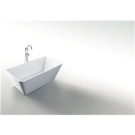 "Virtu USA Serenity VTU-3367 67"" x 31.3"" Freestanding Soaking Bath Tub"