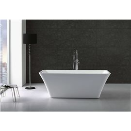 "Virtu USA Serenity VTU-3467 67"" x 29.5"" Freestanding Soaking Bath Tub"