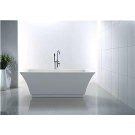 "Virtu USA Serenity VTU-3567 67"" x 31.3"" Freestanding Soaking Bath Tub"