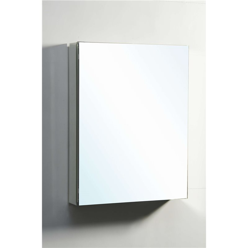 Confiant 20 Mirrored Medicine Cabinet Recessed Or Surface Mount
