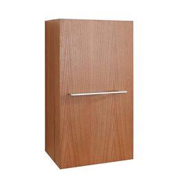 "Carvell 16"" Modern Side Cabinet in Chestnut"