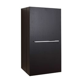 "Carvell 16"" Modern Side Cabinet in Espresso"