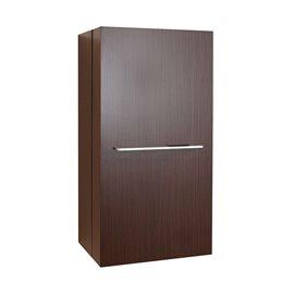 """Carvell 16"""" Modern Side Cabinet in Walnut"""