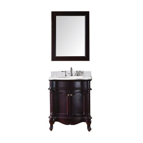 Norhaven 30 Single Bathroom Vanity Cabinet Set In Espresso