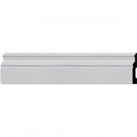 BBD04X01OS Oslo Rope Baseboard Moulding
