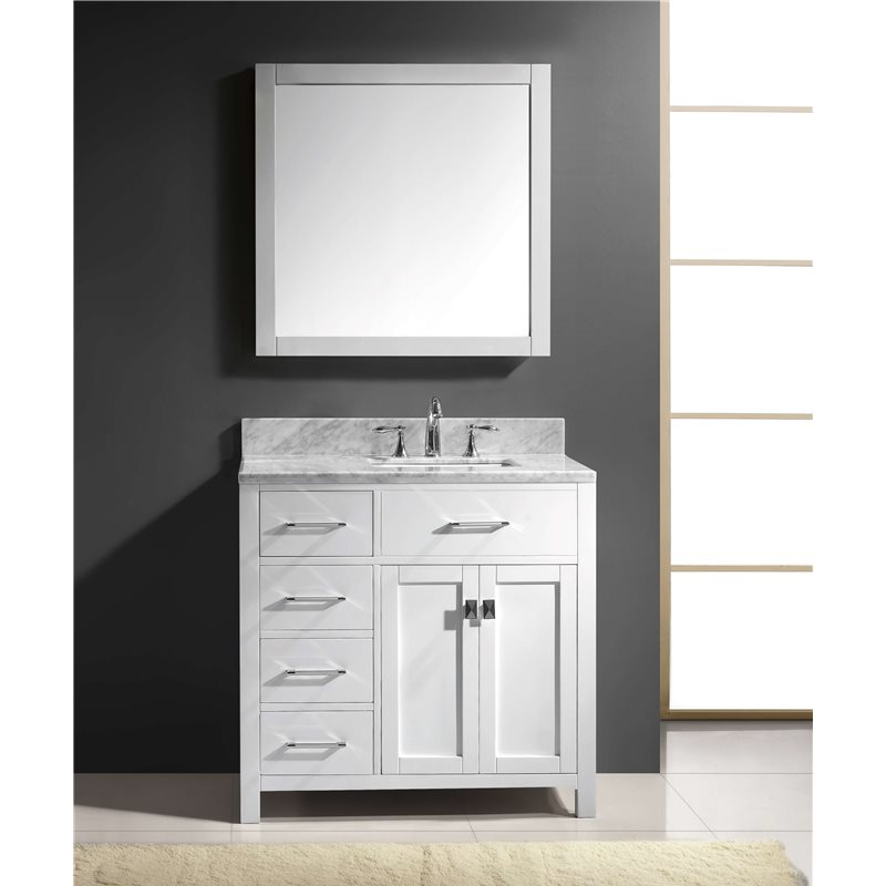 vanities caroline parkway 36 single bathroom vanity cabinet se