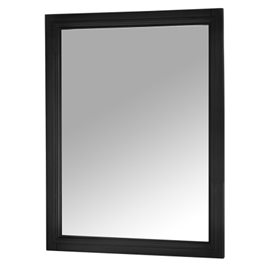 AUGUSTE 23-1/2 IN. W X 30 IN. H WALL MIRROR IN BLACK