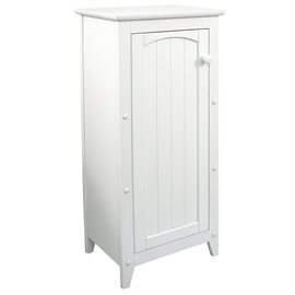 White Single Door Cabinet
