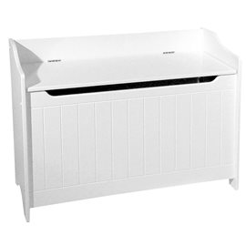 White Storage Chest/Bench