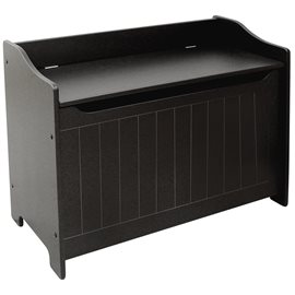 Black Storage Chest/Bench