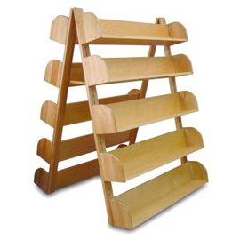 A-Frame Rack with 10 Adjustable Shelves