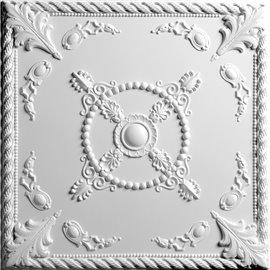 """Alexander 24"""" x 24"""" White Ceiling Tiles"""
