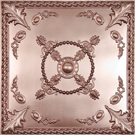 "Alexander 24"" x 24"" Copper Ceiling Tiles"
