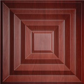 "Aristocrat 24"" x 24"" Cherry Wood Ceiling Tiles"