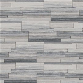Alaska Gray 3D Honed Ledger Panel 6x24