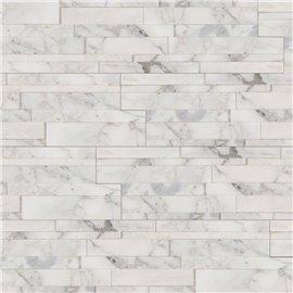 "Calacatta Cressa 3D ""L"" Panel 6x18x6"
