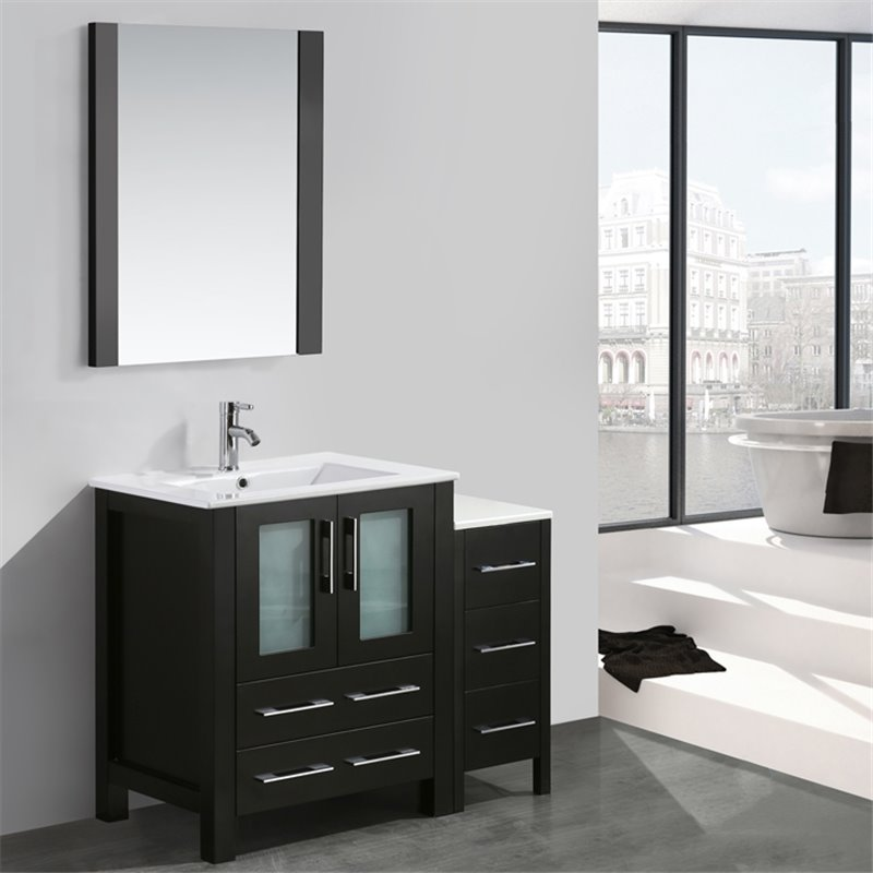 Elegant Bath Gt Bathroom Vanities Gt Sydney 36quot Vanity Set With Undermount