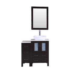 """36"""" Bosconi AB124BWLPS1S Single Vanity"""