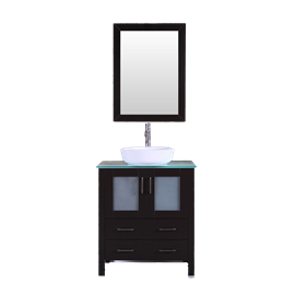 """30"""" Bosconi AB130BWLCWG Single Vanity"""