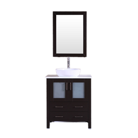 """30"""" Bosconi AB130BWLPS Single Vanity"""