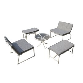 Della 5-piece Patio Conversation Set