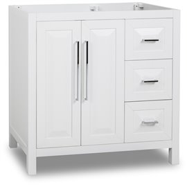 "35"" Cade Contempo White Vanity Base"