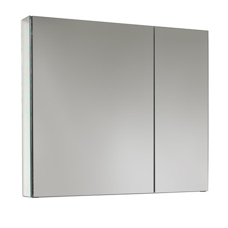 Fresca 30 Wide Bathroom Medicine Cabinet W Mirrors