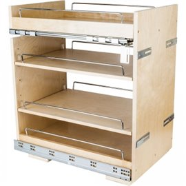 "14"" Base cabinet pullout with premium soft-close undermount"