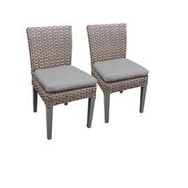 2 Oasis Armless Dining Chairs