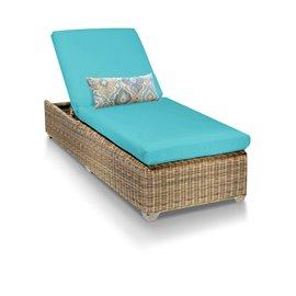 Cape Cod Chaise Outdoor Wicker Patio Furniture