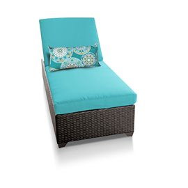 Classic Chaise Outdoor Wicker Patio Furniture