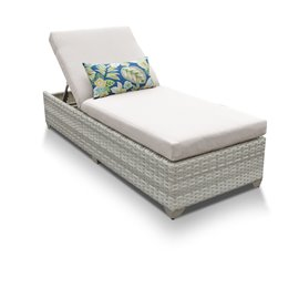 Fairmont Chaise Outdoor Wicker Patio Furniture