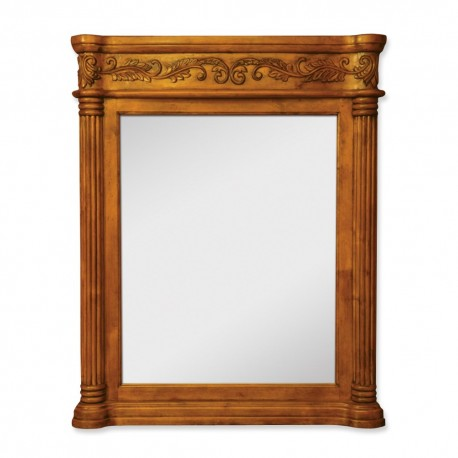 MIR012 Golden pecan mirror