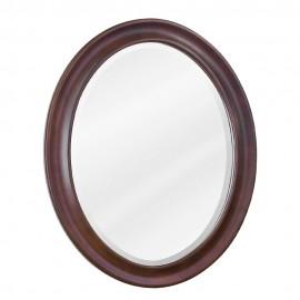 MIR062 Nutmeg oval mirror