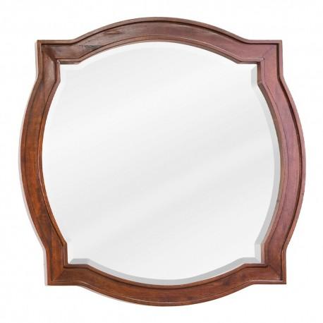 MIR080 Chocolate brown mirror