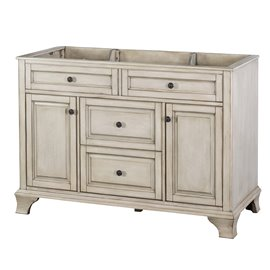 "CORSICANA 48"" VANITY - Antique Grey Finish"