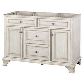 "CORSICANA 48"" VANITY - Antique White Finish"