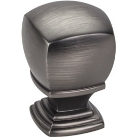 "1"" Overall Length Cabinet Knob. Packaged with one 8/32"" x 1"