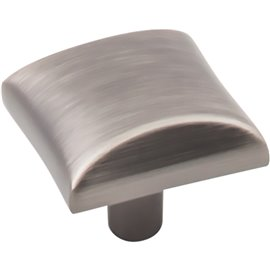 "1"" Overall Length Square Cabinet Knob"