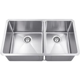Stainless Steel (16 Gauge) Fabricated Kitchen Sink