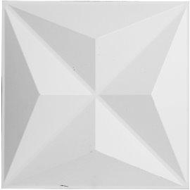 "11 7/8""W x 11 7/8""H Kent EnduraWall Decorative 3D Wall Panel, White"