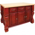 ISL01-RED Kitchen Island