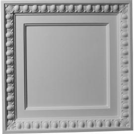 24W x 24H Egg & Dart Ceiling Tile