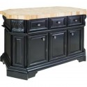 ISL06-DBK Kitchen Island