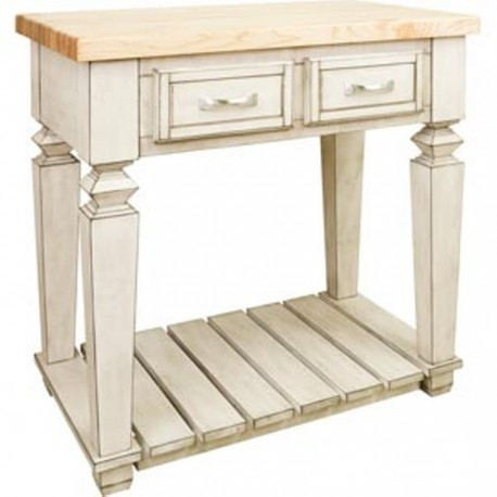 ISL10-FWH Kitchen Island